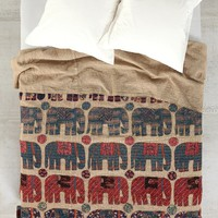 Magical Thinking One-Of-A-Kind Handmade Blue Elephant Quilt - Urban Outfitters