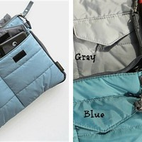 iPad (any size) down jacket bag-4 Colors!