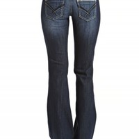 DAKOTA FLARE DOUBLE BUTTON JEANS