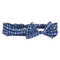 ANCHOR BOW HEADBAND