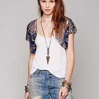 Free People Beaded Bolero