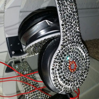 Rhinestone Embelished Headphones Beats by Dre inspired