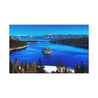 Emerald Bay, Lake Tahoe, California Canvas Print