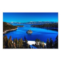 Emerald Bay, Lake Tahoe, California Photo Print