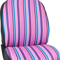 Girly Baja Blanket Front Car Seat Cover Fun Accessory
