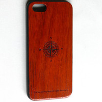 Soft TPU Bumper With Wooden Hard Back Case Cover For Apple iPhone 5 5th. Cover for Iphone 5th.