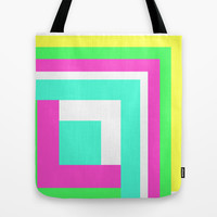 Simple Lines Series Tote Bag by Pop E. Carp