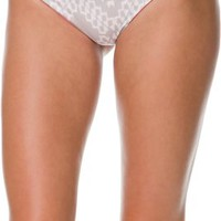 BETTINIS CORAL DESERT CUT OUT BIKINI BOTTOM