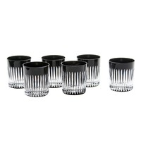 Set of 6 Timeless Black Tumblers