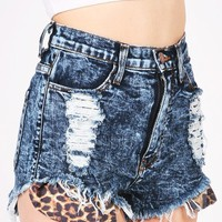 Peekaboo High Waist Shorts | Trendy Shorts at Pink Ice