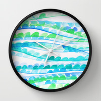 Sea Festival Wall Clock by DuckyB (Brandi)