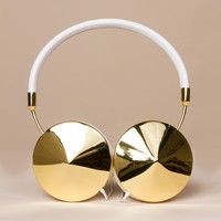 Taylor White and Gold Headphones by Frends - ShopKitson.com