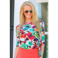 Color Filled Dreams Tunic