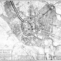 Berlin, Germany: 1749 - REPRODUCTION MAPS