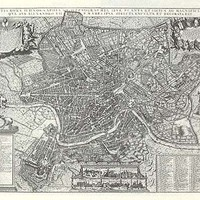 Rome: 1667 - REPRODUCTION MAPS