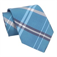 Forsyth of Canada Modern Plaid Woven Silk Tie at Von Maur