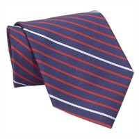 Brooks Brothers Alternating Bar Striped Woven Silk Tie at Von Maur