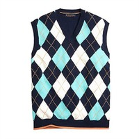 Brooks Brothers Argyle Sweater Vest at Von Maur