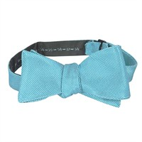 Ike Behar Micro Solid Woven Silk Bow Tie at Von Maur