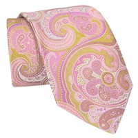 Ted Baker Royal Paisley Woven Silk Tie at Von Maur