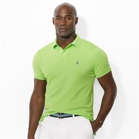 Polo Ralph Lauren Classic-Fit Stretch-Mesh Polo Shirt at Von Maur