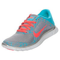 Women's Nike Free 4.0 V3 Print Running Shoes