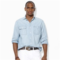 Polo Ralph Lauren Dungaree Chambray Workshirt at Von Maur