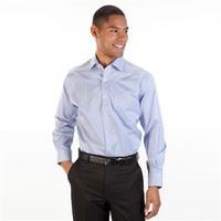 Peter Millar Regular Fit Easy Care Nano-Luxe Long Sleeve Striped Shirt at Von Maur