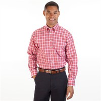 Scott Barber Classic Fit Long Sleeve Plaid Shirt at Von Maur