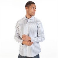 Tommy Bahama Island Modern Fit Diamonds in the Stripe Long Sleeve Shirt at Von Maur