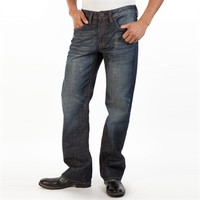 Buffalo David Bitton Men's Contemporary Travis-X Relaxed Straight Leg Jean at Von Maur
