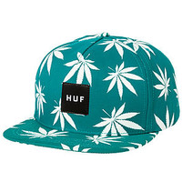 The Glow In The Dark Plantlife Snapback in Jade