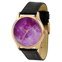 Moon Watch (Purple) Rose gold case