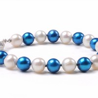 Buy Notre Dame Fighting Irish Spirit Pearl Bracelet. Free Shipping