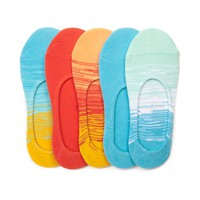 Womens Sunrise Ombre Liners 5 Pack