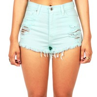 Gelato High Waist Shorts | Denim Shorts at Pink Ice