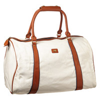 New canvas leather weekend bag - Scotch & Soda