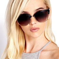F7024 Cat-Eye Sunglasses