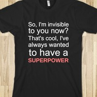 I Have A Superpower