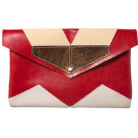 20% SALE Chevron Mosaic Envelope Bag No. MEB-102