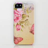 Vintage garden iPhone & iPod Case by Shalisa Photography