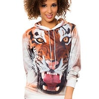 The Tiger Hoodie in Multi