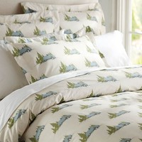LODGE DUVET COVER & SHAM