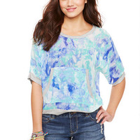 Watercolor Kanga Pocket Sweatshirt