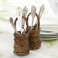 MINI TWIG FLATWARE BASKET