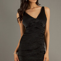 Short Sleeveless V-Neck Dress