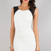 Short Sleeveless Bandage Dress