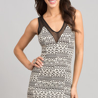 Short Printed Party Dress
