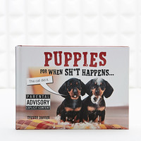 Puppies For When Shit Happens Book - Urban Outfitters