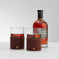 gentlemen's whiskey glass set from RedEnvelope.com